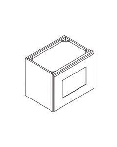 30 inch WIDTH Bridge Cabinets-Shaker White