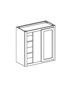 Wall Blind Corner Cabinet-Shaker White